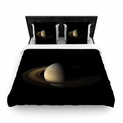 Alias Saturn Digital Woven Duvet Cover Size: King