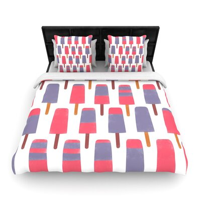 Alik Arzoumanian Pop Woven Duvet Cover Size: Twin