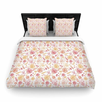 Alisa Drukman Summer Line  Woven Duvet Cover Size: Full/Queen