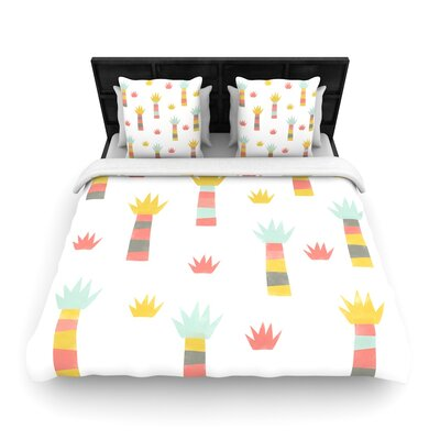 Alik Arzoumanian Tropical Woven Duvet Cover Size: Full/Queen
