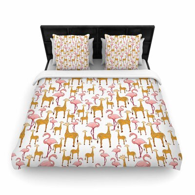 Alisa Drukman Summer Woven Duvet Cover Size: Full/Queen