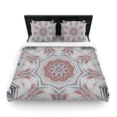 Alison Coxon Boho Dream Woven Duvet Cover Color: Pink/Blue
