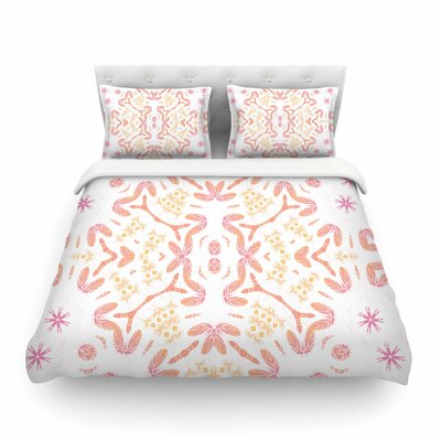 Alison Coxon Aztec Feather Featherweight Duvet Cover Size: Twin
