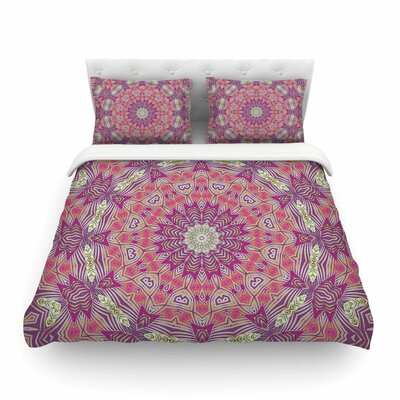 Alison Coxon Gypsy Medallion Purple Digital Featherweight Duvet Cover Size: Twin