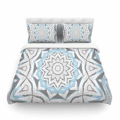 Alison Coxon Plant House Mandala Digital Featherweight Duvet Cover Size: Twin