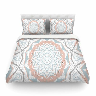 Alison Coxon Plant House Mandala Digital Featherweight Duvet Cover Size: King
