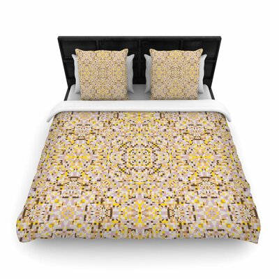 Allison Soupcoff Hint Digital Woven Duvet Cover Size: Twin