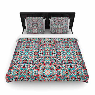 Allison Soupcoff Tart Digital Woven Duvet Cover Size: King
