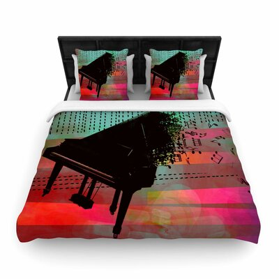 Alyzen Moonshadow A Grand Deluge Abstract Woven Duvet Cover
