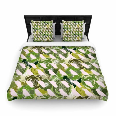 Anchobee Aisha Woven Duvet Cover Size: Full/Queen