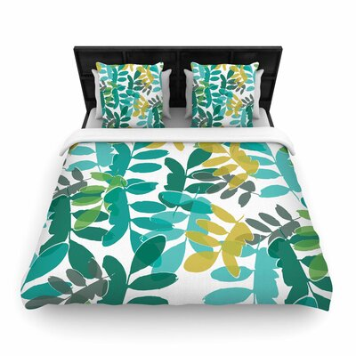 Bridgette Burton Charming Woven Duvet Cover Size: King