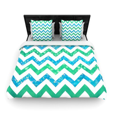 Beth Engel By the Sea Woven Duvet Cover Size: King