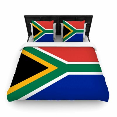 Bruce Sfield South Africa II Woven Duvet Cover