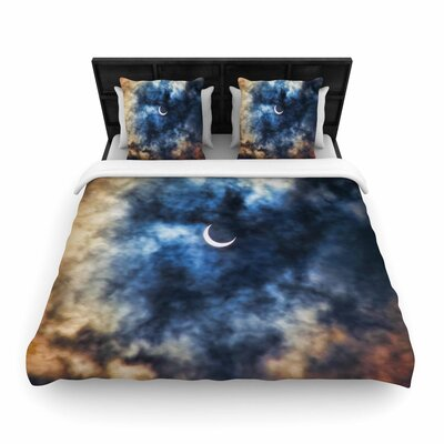 Bruce Stanfield Night Moves Woven Duvet Cover Size: King