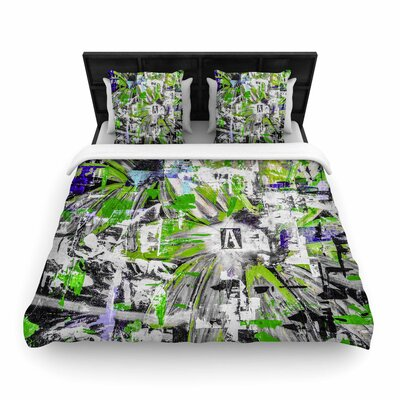 Bruce Stanfield Life Through Adversity 2 Woven Duvet Cover Size: King