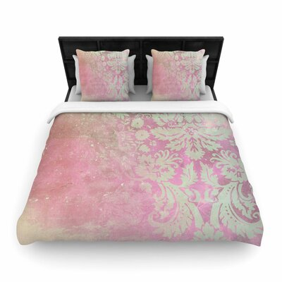 Cafelab Spring Damask Woven Duvet Cover Size: Full/Queen