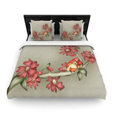 Carina Povarchik Feng Shui Woven Duvet Cover Size: Twin