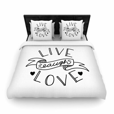 Busy Bree LLL Woven Duvet Cover