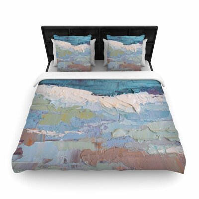Carol Schiff Surf Dreams Woven Duvet Cover Size: King