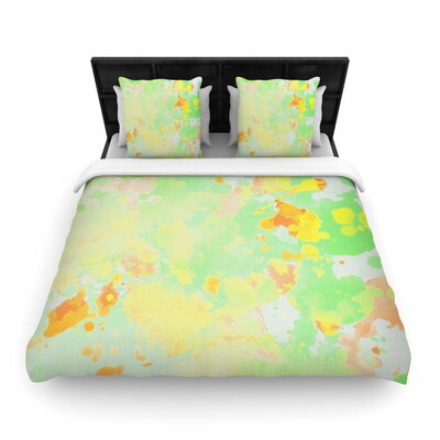 CarolLynn Tice Catch Painting Woven Duvet Cover Size: Twin