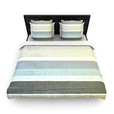 CarolLynn Tice No Limits Woven Duvet Cover Size: King