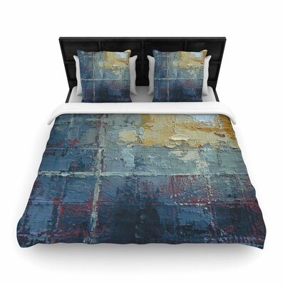 Carol Schiff Indecision Woven Duvet Cover Size: King