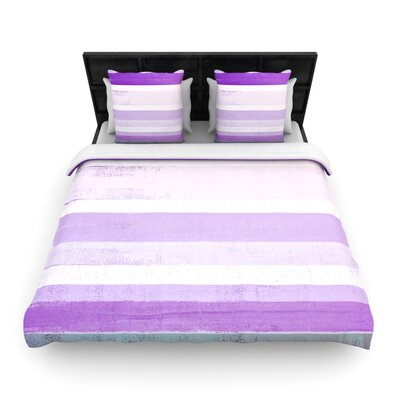 CarolLynn Tice Grape Woven Duvet Cover Size: Twin