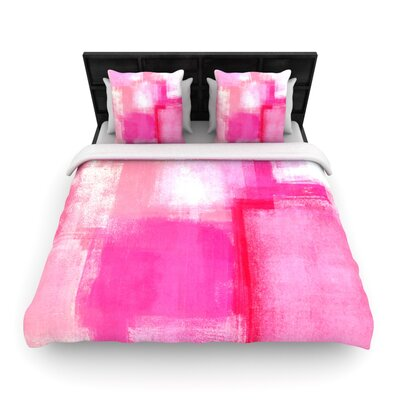 CarolLynn Tice Running Late Woven Duvet Cover Size: Full/Queen
