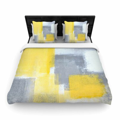 CarolLynn Tice Steady Woven Duvet Cover Size: King