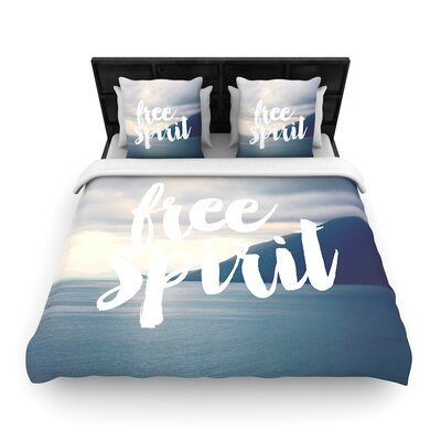 Catherine McDonald Free Spirit Woven Duvet Cover Size: King