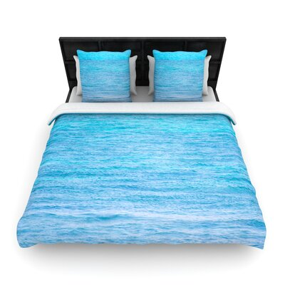 Catherine McDonald South Pacific II Ocean Water Woven Duvet Cover Size: Twin
