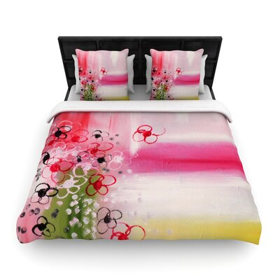 Cathy Rodgers Spring Dreams Woven Duvet Cover Size: Full/Queen