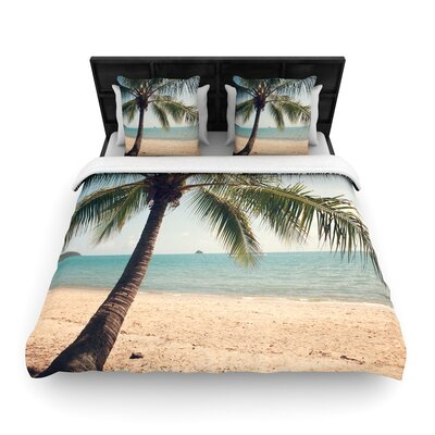 Catherine McDonald Tropic of Capricorn Photography Woven Duvet Cover Size: King