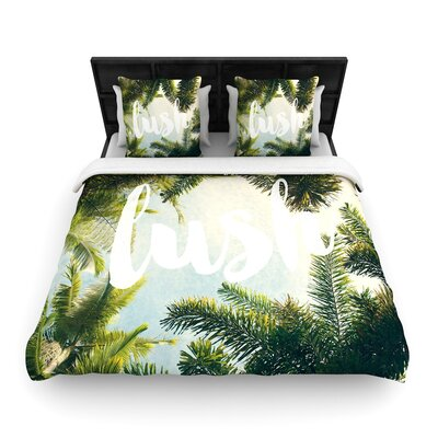 Catherine McDonald Lush Woven Duvet Cover Size: Full/Queen
