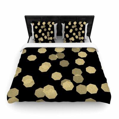 Chelsea Victoria Confetti Noir Woven Duvet Cover