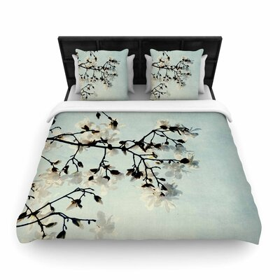 Chelsea Victoria Bloom Photography Nature Woven Duvet Cover