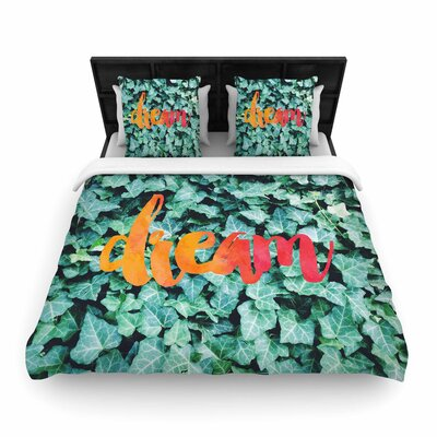 Chelsea Victoria Dream Typography Woven Duvet Cover
