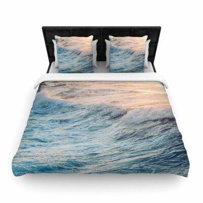 Chelsea Victoria Sherbert Ocean Nature Woven Duvet Cover