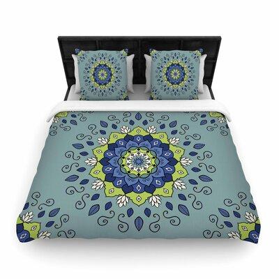 Cristina bianco Design Mandala Geometric Woven Duvet Cover