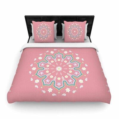 Cristina Bianco Design Mandala II Woven Duvet Cover