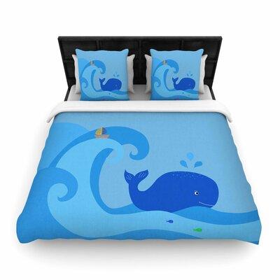 Cristina Bianco Design Whale Woven Duvet Cover