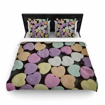 Cristina Mitchell Candy Love Photography Woven Duvet Cover