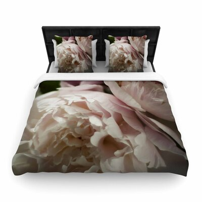 Cristina Mitchell Peonies Woven Duvet Cover