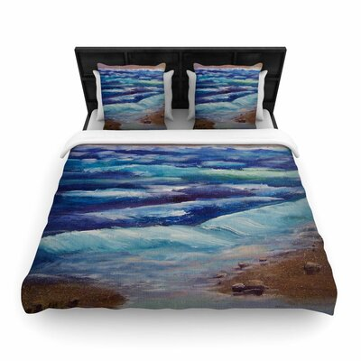Cyndi Steen Beach Dreams Woven Duvet Cover