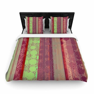 Cvetelina Todorova 'Magic Carpet' Woven Duvet Cover