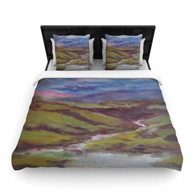 Cyndi Steen Dreaming of Scotland Woven Duvet Cover