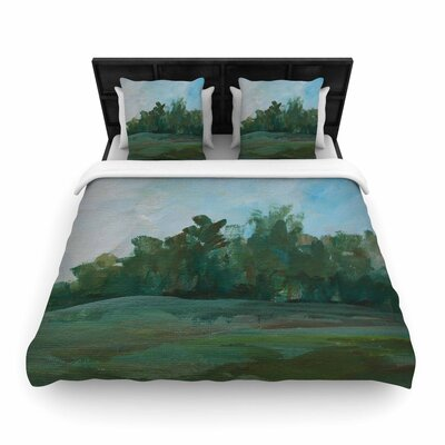Cyndi Steen Stand of Trees Woven Duvet Cover