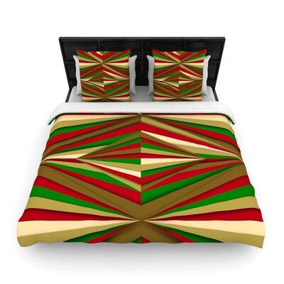 Danny Ivan Christmas Pattern Woven Duvet Cover