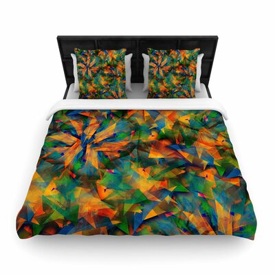 Danny Ivan No Way Out Abstract Woven Duvet Cover