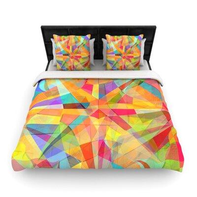 Danny Ivan Star Geometric Woven Duvet Cover